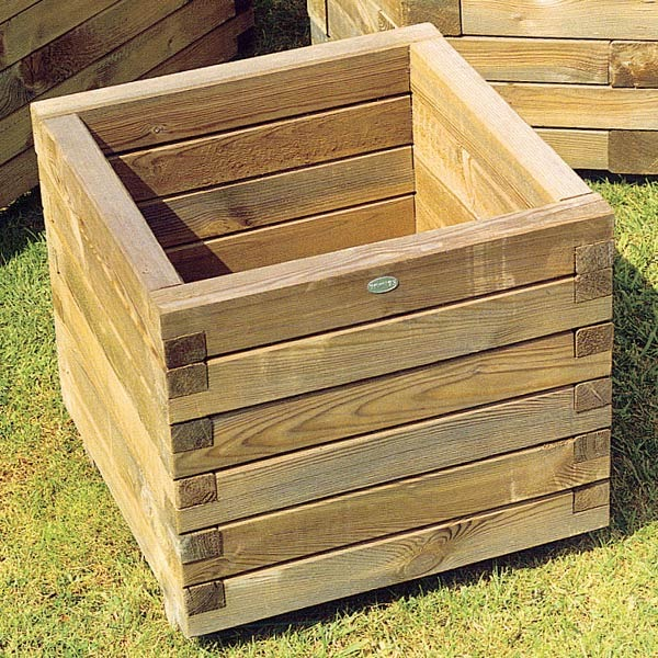 Made To Measure Bespoke Wooden Planters: Wooden Planters Pots